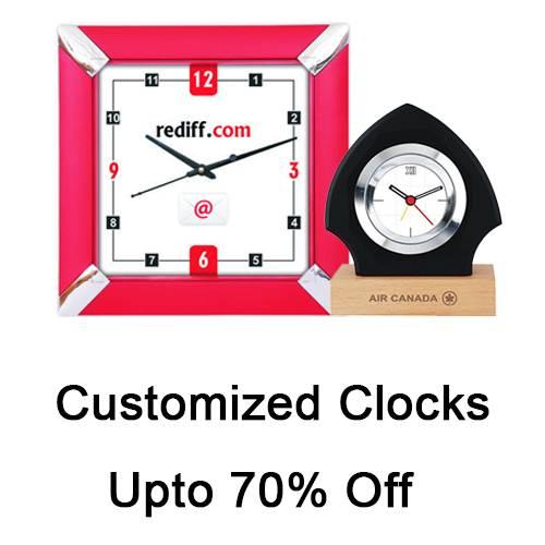 Customized Clocks
