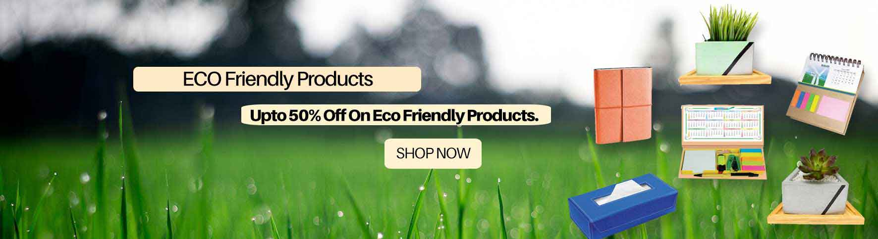 angel gifts eco friendly banner