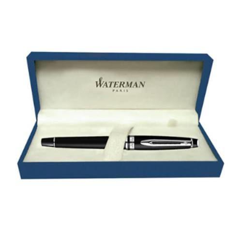 Waterman Expert Matte Black CT Fountain Pen Medium