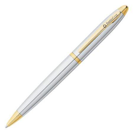 Franklin Covey Lexington Chrome/Gold Tone Ball Point Pen