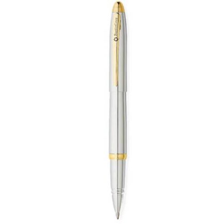 Franklin Covey Lexington Chrome/Gold Tone Roller Ball Pen