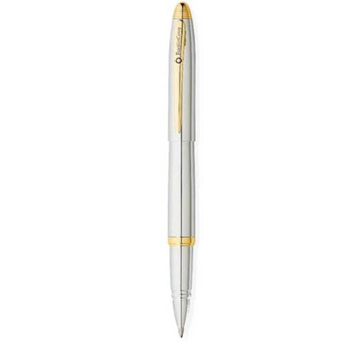 Franklin Covey Lexington Chrome/Gold Tone Roller Ball Pen
