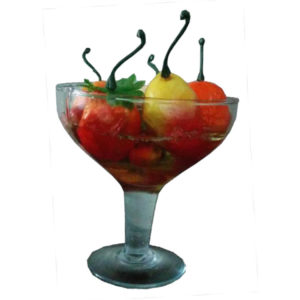 Fruit Bowl Gel Candle