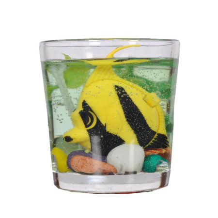 Mini-Aquarium Gel Candle