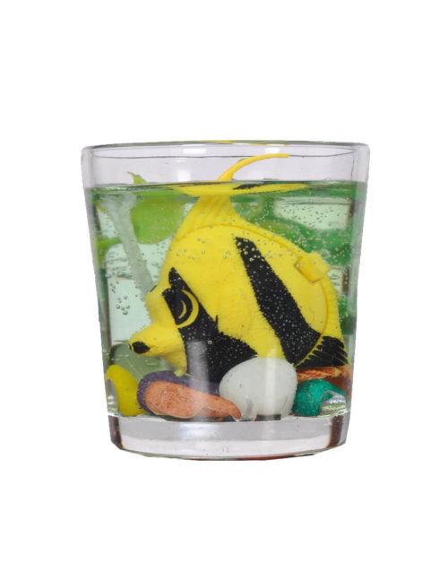 Mini-Aquarium Gel Candle
