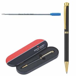 Pierre Cardin Cristal Series Black chrome Finish Ball Pen