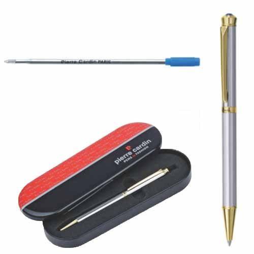 Pierre Cardin Cristal Series White Gold Finish Ball Pen