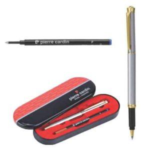 Pierre Cardin White Gold Finish Roller Ball Pen