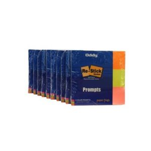 ODDY - Re Stick Paper Notes (In 3 Colors - 40 Sheets , 1*3 inch) -40 Sheets