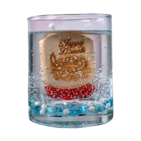 Radiant Diwali Gel Candle