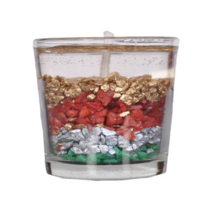 Sparkling Stones Gel Candle