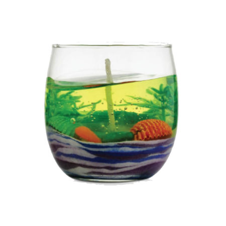 Aquatic Life Gel Candle