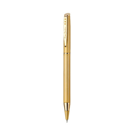 Pierre Cardin Beverly Hills Satin Gold Ball Point Pen