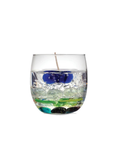 regnant glass gel candle