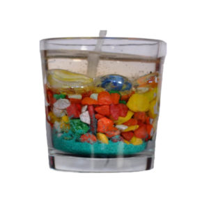 Sand & Stone Gel Candle