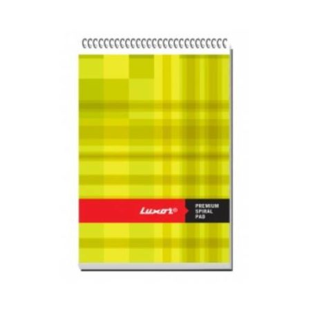 Luxor – Total Spiral Note Pad -21.8×13.3 cm – 20576