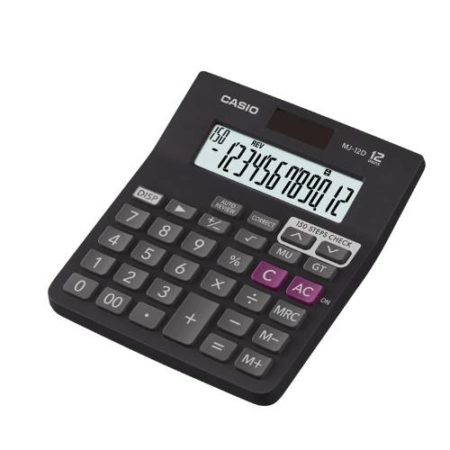Casio MJ-12D Check and Correct Calculator