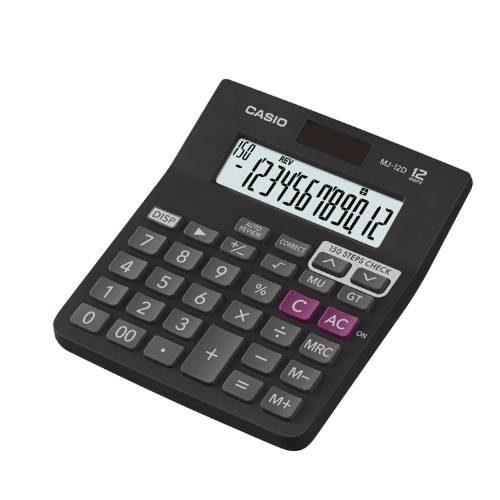 Casio MJ-12D Check and Correct Calculator