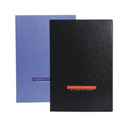 World One - Display Book- Achiever Portfolio (B4)-DB509