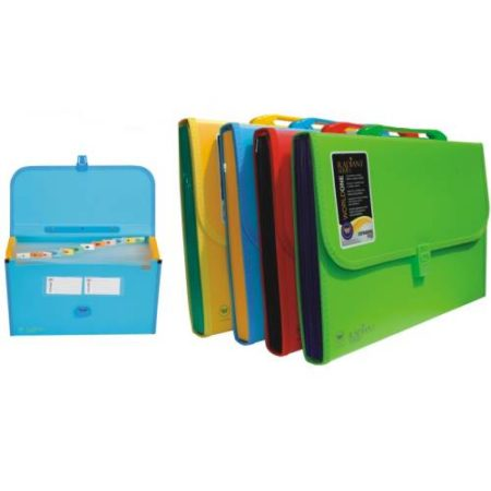 World One – Expanding File with Handle & Lock – FL01H-GD