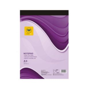 World One - Notepad Ruled 40 Sheets (A5) WPE - 1207