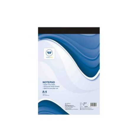 World One - Notepad Ruled 40 Sheets (F5) WPE - 1206