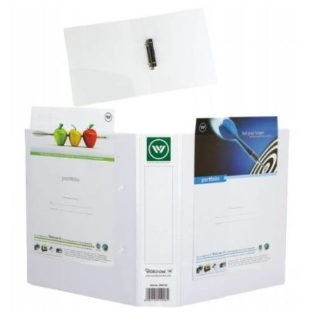 World One - PVC Ring Binder (2-25-D) with Full View Pocket - RB414V-1