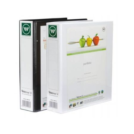 World One - PVC Ring Binder (2-25-D) with Full View Pocket - RB414V