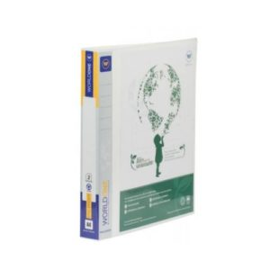 World One - Ring Binder (4-25-D) with Front View Pocket - TRB401V