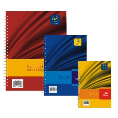 World One - Spiral Notebook - WPE (A4) - WPE 1221