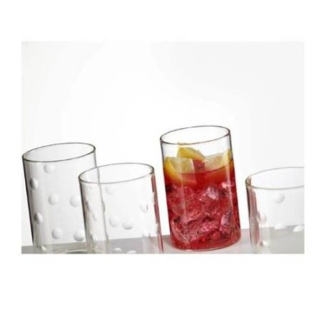 Borosil Medallion Glass Set of 6 - 295 ML