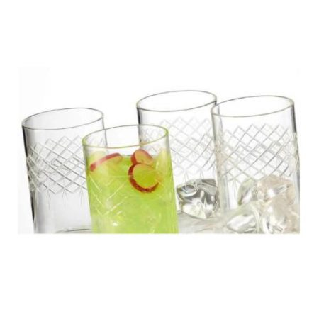 Borosil Bracelet Glass Set of 6 - 295 ML