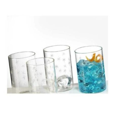 Borosil Galaxy Glass Set of 6 - 295 ML