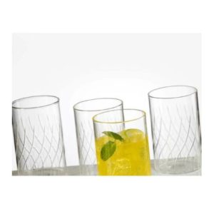 Borosil Cascade Glass Set of 6 - 350 ML