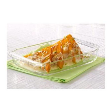 Borosil Rectangular Dish Container - 1500 ML