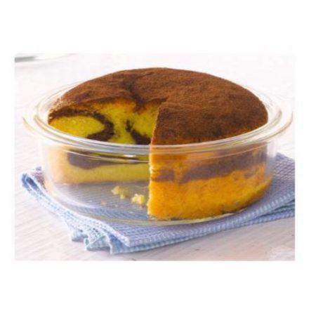 Borosil Round Cake dish Container - 26 CM