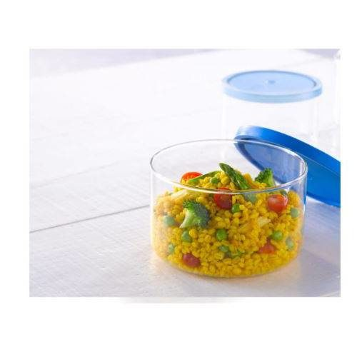 Borosil Cook & Store With Plastic Lid - 800 ML