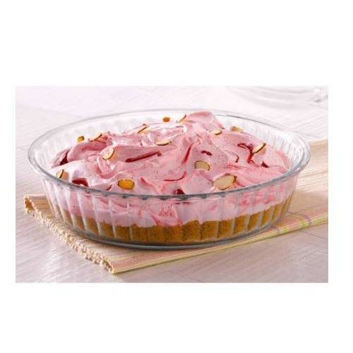 Borosil Fluted Dish Container - 1200 ML
