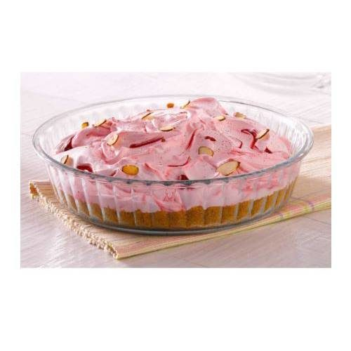 Borosil Fluted Dish Container - 1500 ML