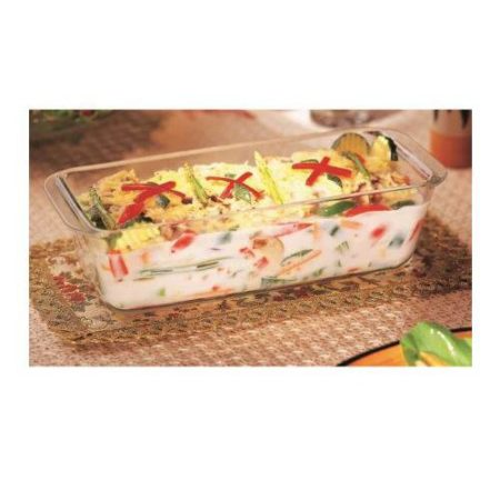 Borosil Loaf Dish Container - 1200 ML