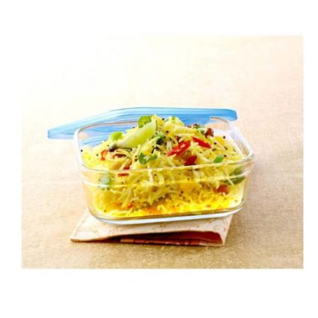Borosil 3 in 1 Square Dish Container -750 ML