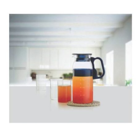 Borosil Marina Jug Glass Handle 1000 ML
