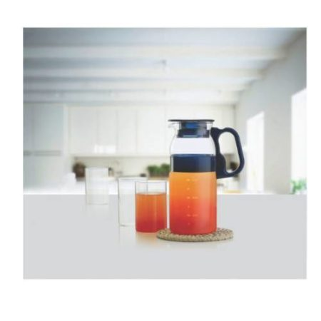 Borosil Aqua Marina Jug Set of 4