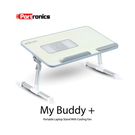 Portronics - My Buddy Plus Cooling Laptop Stand For The Computer