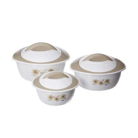 Cello Futura Plastic Casserole Set 3-Pieces