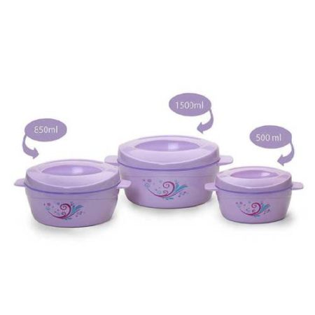 Cello Alpha Casserole Set (3-Pieces) 1