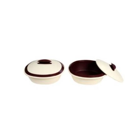 Signoraware Casserole Double Wall Big Set Of 2