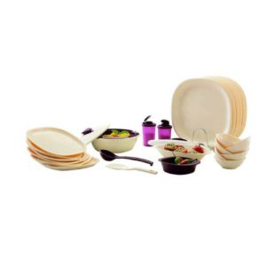 Signoraware Square Dinner Set 29 Pieces