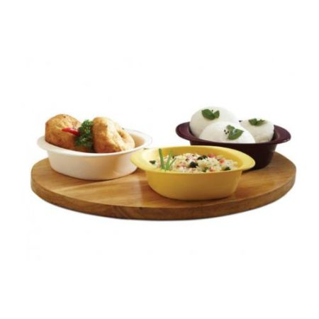 Signoraware Heat N Serve Bowl Set Of 2