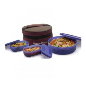 Signoraware Classic Lunch Box (With Bag)